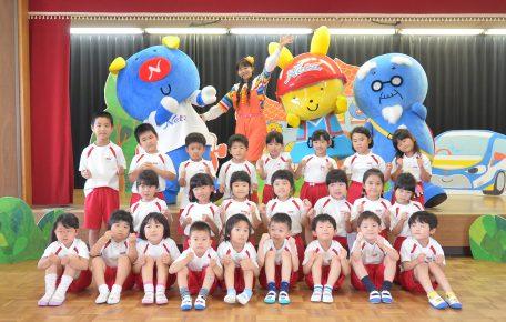 CHU♡BOO村から幼稚園に出張