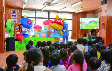 幼稚園読み聞かせ/ダンス第3回を開催しました